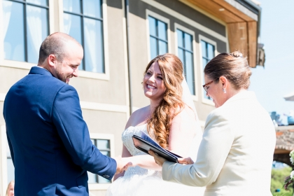 Image from a wedding shot by Dave Di Ubaldo of Worn Leather Media, a Banff Alberta based Wedding Photographer