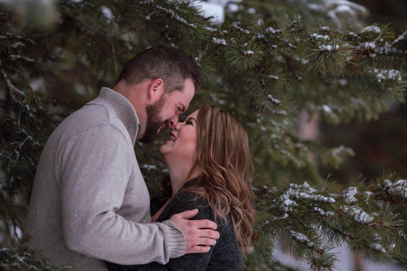 P + C // Lake Minnewanka Engagement