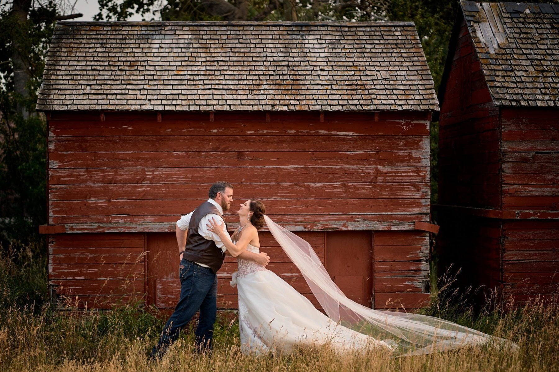 Wedding Photography barn bin rustic country alberta