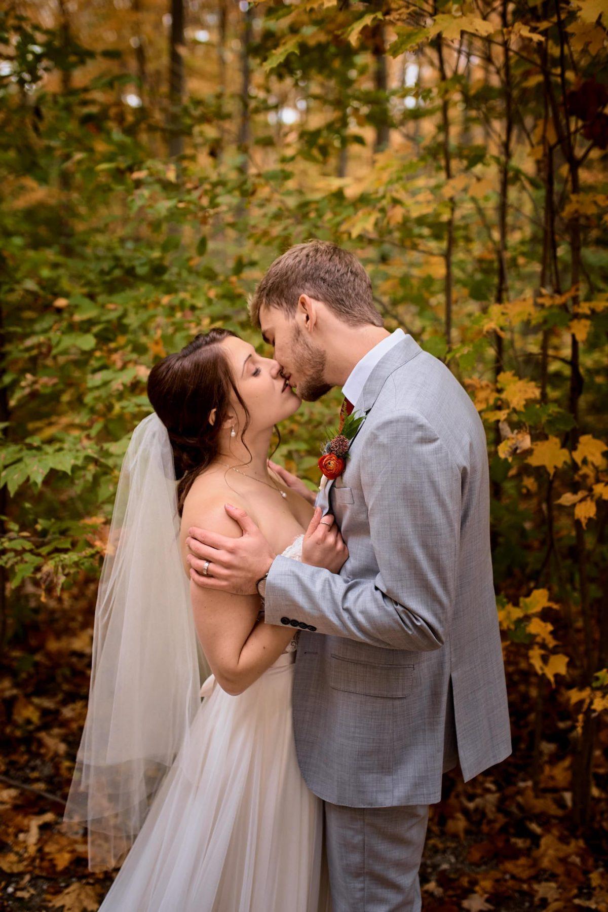 Wedding photography intimate
