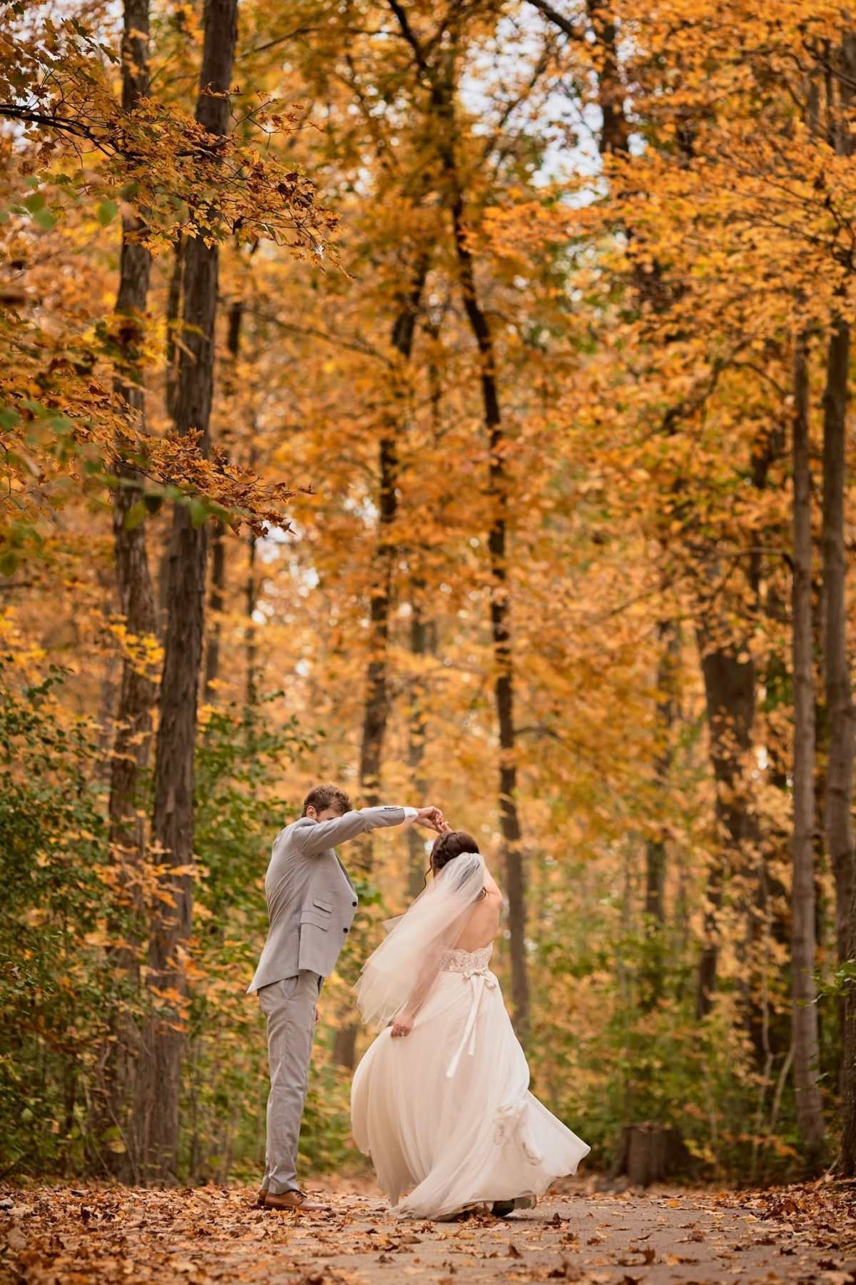 Wedding Photography fall colours